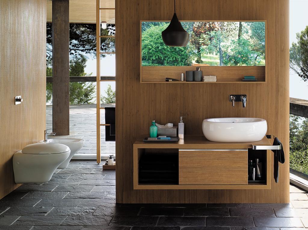 eko kolory w łazience