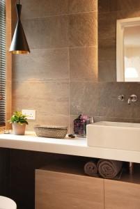 łazienka w odcieniach beżu