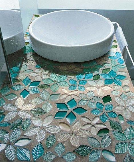 szklana mozaika