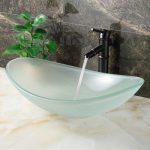 szklana umywalka łazienkowa