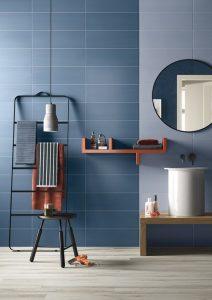 modne niebieskie łazienki