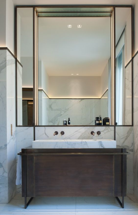art deco meble łazienkowe