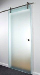 drzwi łazienkowe ze szkła
