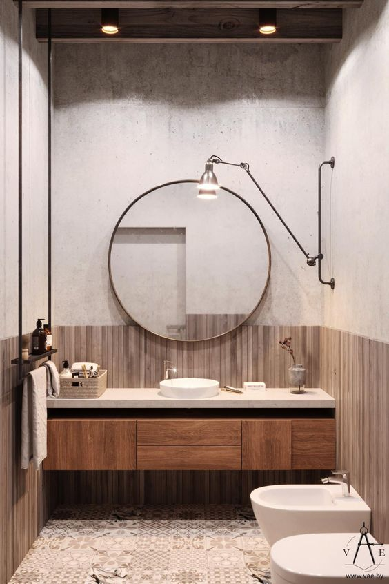 soft loft łazienki