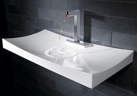 nowoczesna umywalka łazienkowa