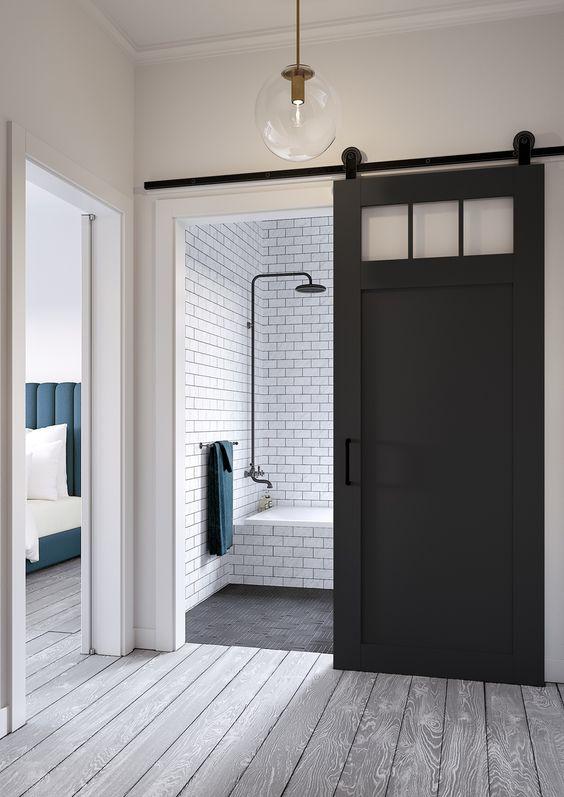 drzwi do łazienki przesuwne